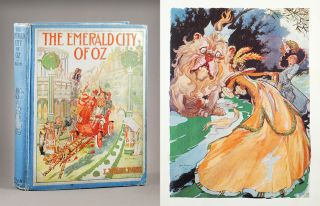 The Emerald City of Oz. L. Frank Baum, by John R. Neill