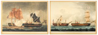 Capture of La Pique_Jan. 5th 1795. [and] Capture of La Forte, Feb. 28th 1799. T. Sutherland