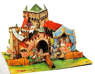 The [Castle] Tournament. Pop-up Book, Vojt ch Kuba ta