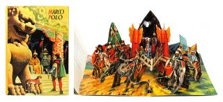 Marco Polo. Pop-up Book, Vojt ch Kuba ta