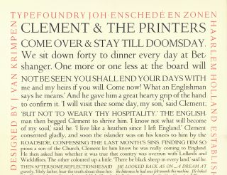 The Fleuron. A Journal of Typography. Edited by Stanley Morison. No. VI.
