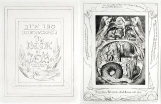 Illustrations of the Book of Job. William Blake
