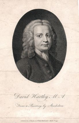 David Hartley, M.A. From a Painting by Shackelton. William Blake