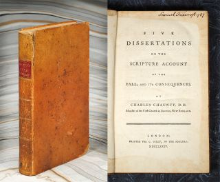 Five Dissertations on the Scripture Account of the Fall. Charles Chauncy