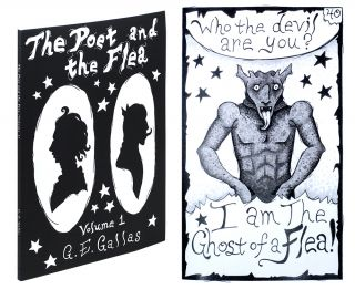 The Poet and the Flea. Ode to William Blake. Volume 1. Written and illustrated by G.E. Gallas. G....