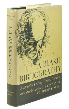 A Blake Bibliography. G. E. Jr. Bentley, Martin Nurmi