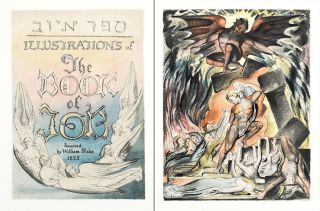 Illustrations of the Book of Job (The New Zealand Set). William. Trianon Press Blake