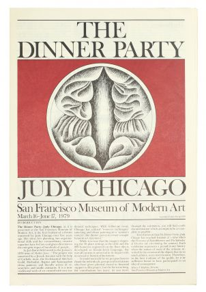 The Dinner Party. San Francisco Museum of Modern Art March 16-June 17, 1979. Judy Chicago