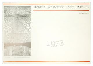 Hoefer Scientific Instruments 1978. [Calendar]. Two Windows Press, Eric . Dickey Coates, Don,...