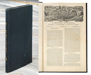 Cope's Tobacco Plant A Monthly Periodical Interesting to the Manufacturer, the Dealer, and the...