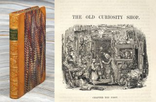 The Old Curiosity Shop. A Tale...With Illustrations By George Cattermole and Hablot K. Browne....
