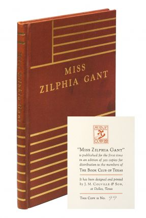 Miss Zilphia Gant. William Faulkner