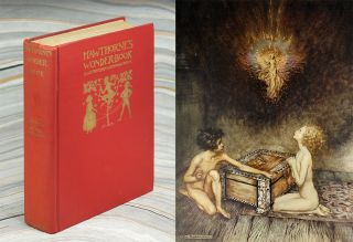 A Wonder Book. Illustrated By Arthur Rackham. Nathaniel. Rackham Hawthorne, Arthur