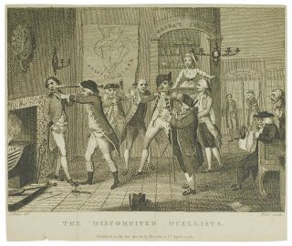 "The Wit's Magazine. Plate 3: ""The Discomfited Duellists."". William Blake"