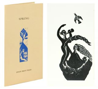 Spring. Designed and Printed by Linda Anne Landers. William Spoon Print Press. Blake