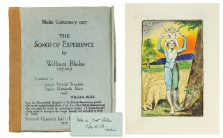 The Songs of Experience. William Blake