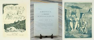 America a Prophecy. William Blake, Muir Facsimile
