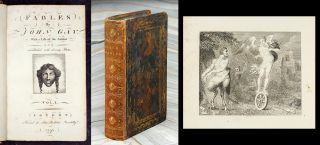 Fables. With a life of the Author and embellished with 70 Plates. William. Gay Blake, John