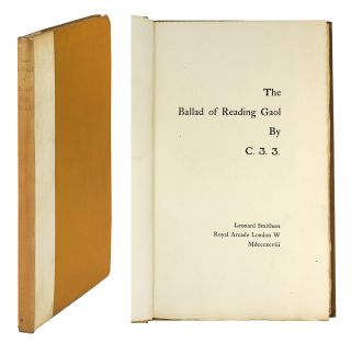 The Ballad of Reading Gaol by C.3.3. Oscar Wilde