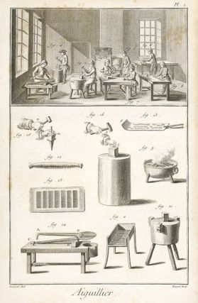 Aiguillier, Aiguiller-Bonnetier, Amydonnier (Needle Maker, Needle-Cap Maker & Starch Maker)...