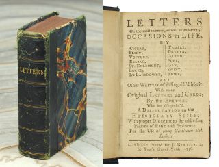 Letters on the most common, as well as important, occasions in life, by Cicero, Pliny, Voiture,...