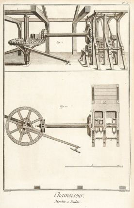 Chamoiseur et Megissier (Tanner of Chamois Leather and Sheep and Goat Leather). Encyclopédie, ou...