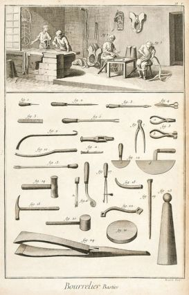 Bourrelier et Bourrelier-Bastier (Harness and Saddle Maker). Encyclopédie, ou dictionnaire...