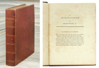 An Investigation into Principles, &c. [title from Worldcat]. George Baldwin, William Blake, assoc