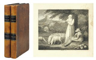 Fables. With a life of the Author and embellished with 70 Plates. John. Blake Gay, William