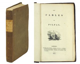 The Fables of Pilpay. Bidpai