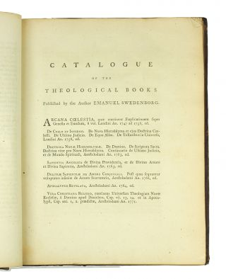 A Treatise concerning Heaven and Hell, containing a relation of many wonderful things therein, as heard and seen by the author, the Honourable Emanuel Swedenborg, Of the Senatorial Order of Nobles in the Kingdom of Sweden. Now first translated from the original Latin.