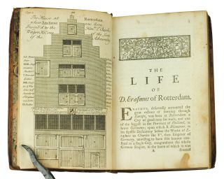 The Life of Erasmus. More particularly that part of it, which he spent in England; wherein an account is given of his learned friends, and the state of religion and learning at that time in both our universities. With an appendix containing several original papers.