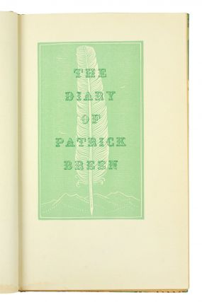 The Diary of Patrick Breen. Recounting the Ordeal of the Donner Party Snowbound In the Sierra 1846-47. Introduction & Notes by George R. Stuart.