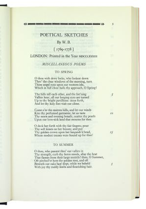 The Complete Writings of William Blake. With variant readings.