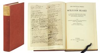 The Poetical Works... A New and Verbatim Text from the Manuscript Engraved and Letterpress...