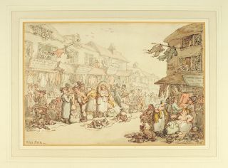 Rag Fair. Thomas Rowlandson