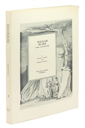William Blake Book Illustrator: Volume I. Roger R. And Essick Easson, Robert N