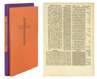 Great Polyglot Bibles, Including a Leaf from the Complutensian of Acala, 1514–17 by Basil Hall....