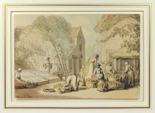 Picking Mulberries. Thomas Rowlandson
