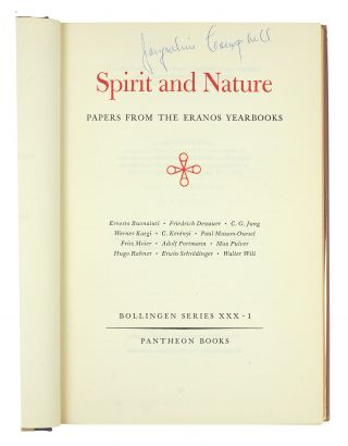 Eranos. Papers from the Eranos Yearbooks. Selected and translated from the Eranos-Jahrbücher edited by Olga Froebe-Kapteyn. Vol. 1-4 (of 6): Spirit and Nature, The Mysteries, Man and Time, Spiritual Disciplines.