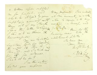 ALS to Messrs. John and Arthur Arch. Thomas Frognall Dibdin
