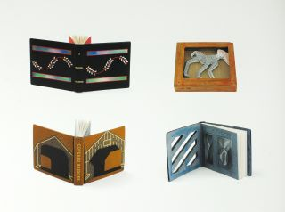 The Neale M. Albert Collection of Miniature Designer Bindings. A Catalogue of an Exhibition Held at the Grolier Club, September 13 - November 4, 2006.