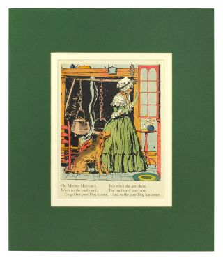 Five illustrated nursery rhymes from Mother Goose.
