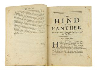 The Hind and the Panther transvers'd To the Story of The Country-Mouse and the City-Mouse.