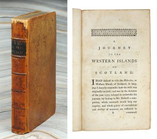 A Journey to the Western Islands of Scotland. Samuel Johnson