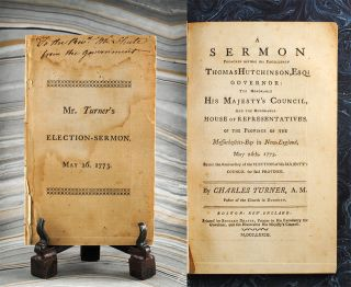 Sermon Preached before His Excellency Thomas Hutchinson, Esq; Governor: The Honorable His...
