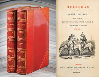 Hudibras. With Notes by the Rev. Treadway Russel Nash. Samuel Butler